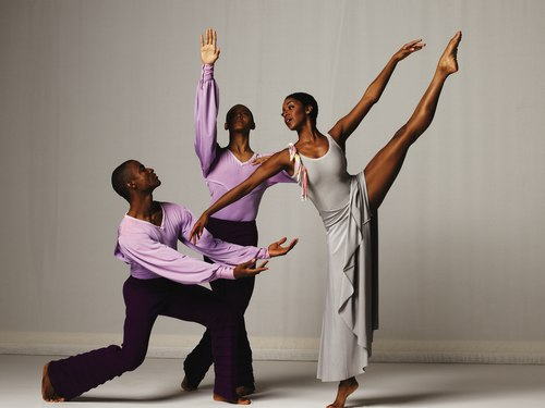 AAADT's Amos J. Machanic Jr., Clifton Brown, and A. Thomas in Alvin Ailey's Memoria