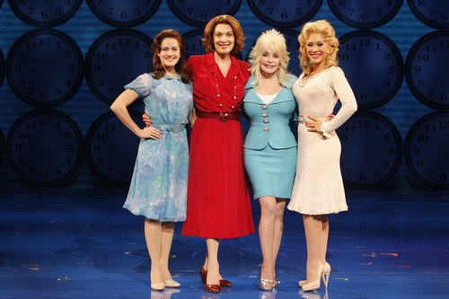 Mamie Parris, Dee Hoty, Dolly Parton and Diana DeGarmo of 9 to 5: The Musical.