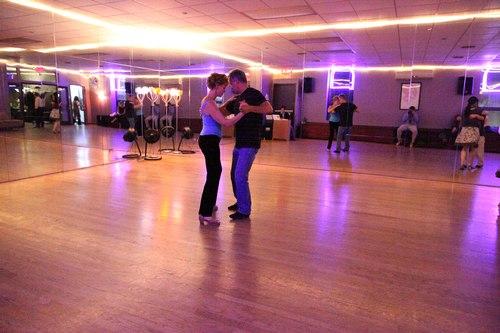 You Should Be Dancing 'Latin' Room 1/125, 3.5, ISO 25600