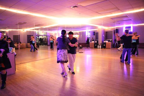 You Should Be Dancing 'Latin' Room 1/125, 2.0, ISO 12800