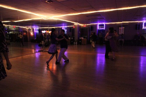 You Should Be Dancing 'Latin' Room 1/125, 5.0, ISO 12800