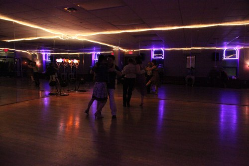You Should Be Dancing 'Latin' Room 1/125, 5.6, ISO 12800