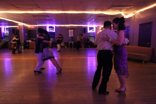 You Should Be Dancing 'Latin' Room 1/125, 2.5, ISO 6400