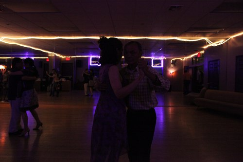 You Should Be Dancing 'Latin' Room 1/125, 4.5, ISO 6400