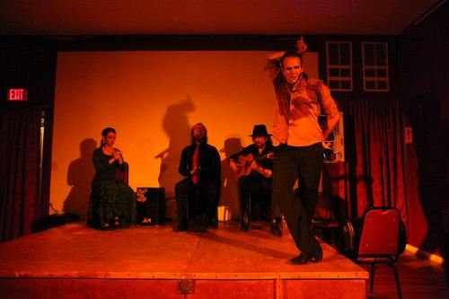 Alegrias Flamenco at La Nacional 1/125, 4.5, ISO 6400