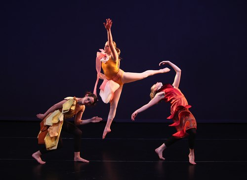 Whitney Weinstein, Megan Quinn, and Cassandra Cotta in Crystallina