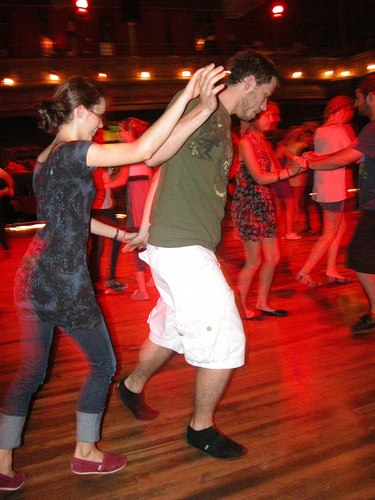 Lindy Hop at the Century Ballroom