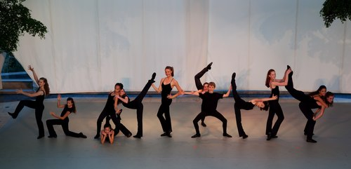 Indianapolis School of Ballet in Crunchy Granola Choreography by Bob Fosse