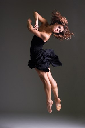 Koresh Dance Company's Jessica Daley in Le Bal Noir
