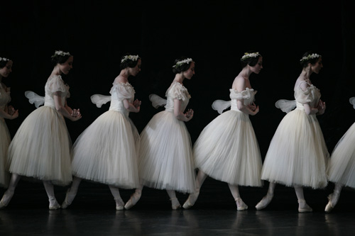 The Paris Opera Ballet in 'Giselle'.