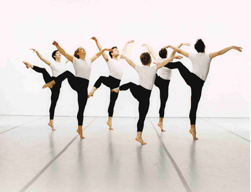Mark Morris Dance Group in Mark Morris' 'Canonic 3/4 Studies'. Photo by Marc Royce.