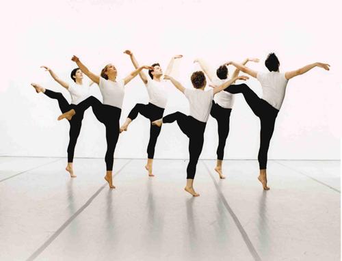 Mark Morris Dance Group in Mark Morris' 'Canonic 3/4 Studies'. Photo by Marc Royce.