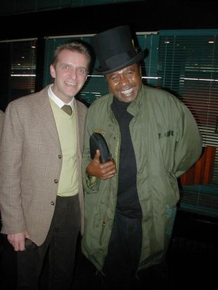 Azalea Owner, Enrico, with Guest, Ben Vereen