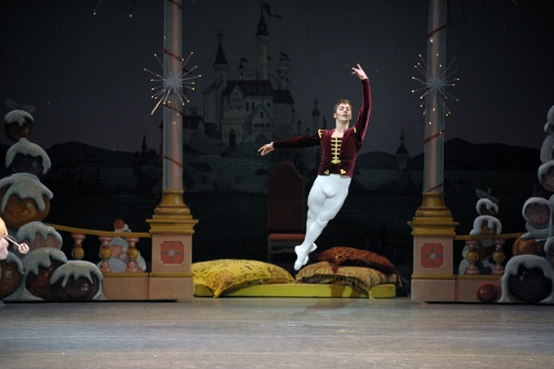 Gregory Tyndall as the Cavalier in  Indiana University Ballet Theater's 'The Nutcracker'.