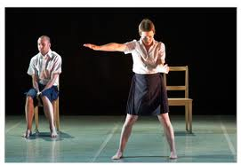 Nol Simonse and Christy Funsch in 'Etudes in Detention'