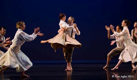 'The Walk West,' SoleVita Dance Company. Choreographer Joelle Martinec.