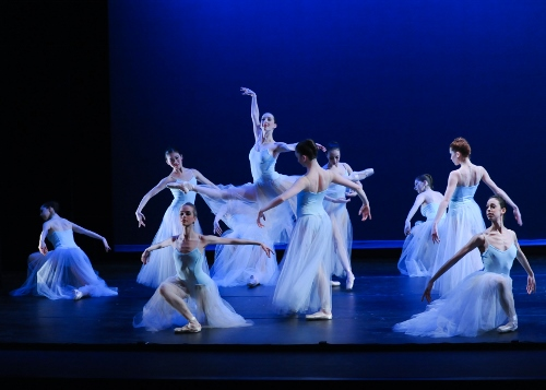 Pittsburgh Ballet Theatre in George Balanchine's 'Serenade'.