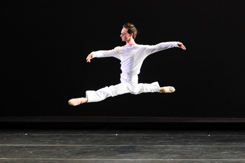 Luca Sbrizzi in Mark Morris' 'Drink to Me Only With Thine Eyes'.