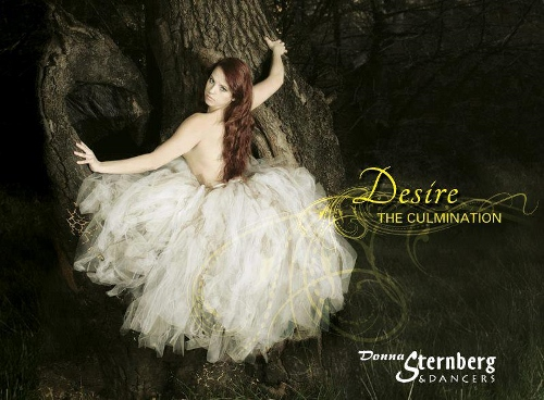 Cover art for 'Desire... The Culmination' featuring Cassandra Richards