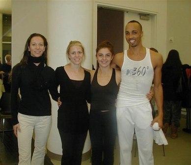 MG360° Dance Co., Elizabeth Auclair, Erica Dankmeyer, Alessandra Prosperi, Martin Lofsnes
