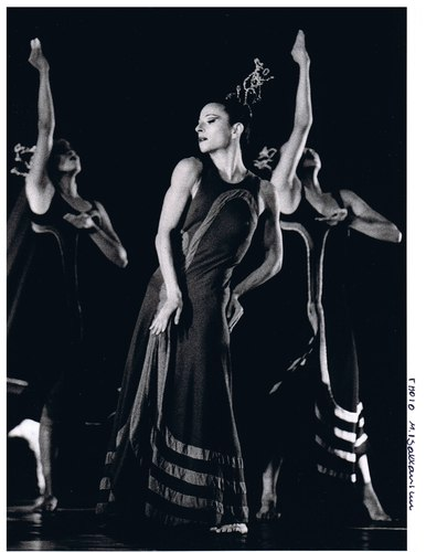 Elizabeth Auclair in Martha Graham's 'Night Journey'