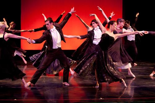 Dance Kaleidoscope dancers in 'Piaf Plus'.