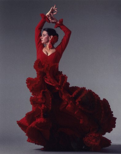 Carlota Santana, 1990s. Photo courtesy of Flamenco Vivo.