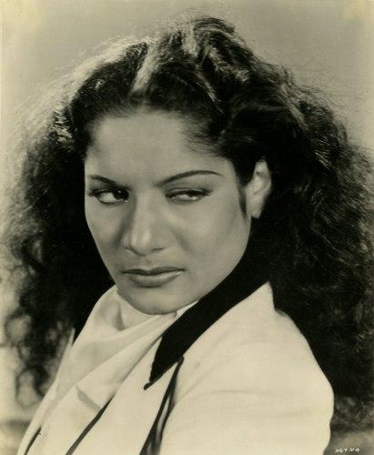 Carmen Amaya and the Gypsy Gaze.