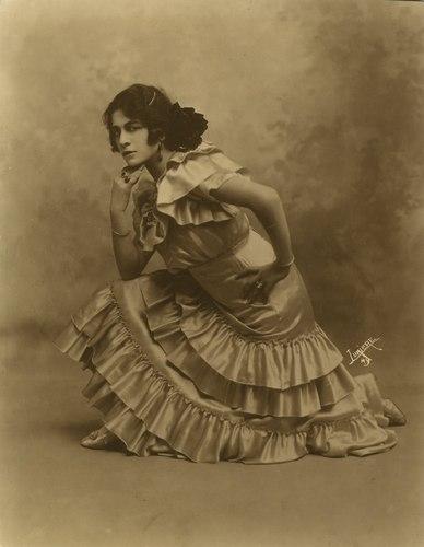 La Argentina, c. 1914. Photo courtesy of Carlota Merce de Pavloff.