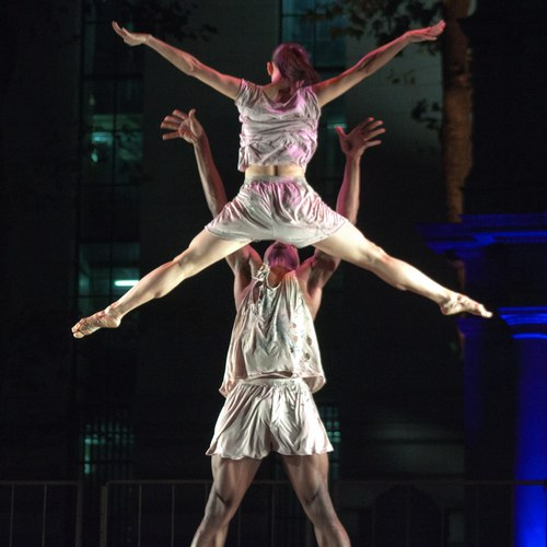 Shattered Presented in Bryant Park, 2011 Choreography by Elisa Monte