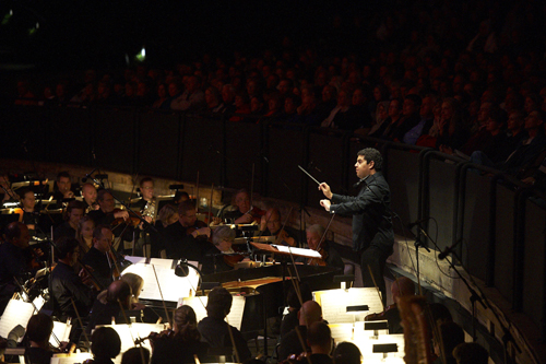 The Joffrey Ballet and The Cleveland Orchestra at Blossom Music Center, Tito Muñoz conducting 2010.