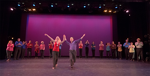 Dancers: Erik Novoa, dancer and co-choreographer, Anna Novoa, dancer and co-choreographer, Sandrine Menoret, Kathy Johanessen, Diane Ard, Ed Blum, Sandy Blum, Doug Holaday, Mary Holaday, James Reilly, Paula Thomes, Susan Wittmann, Mindy Carter, Marsha DeSouza, Neal McDermott, Susan Chen, Tom Casolino, Daren Roeder, Crystal Seaforth and Diana Criscuolo.