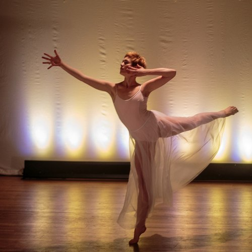 Insincerely Yours is choreographed by Nancy Cantine (performed by Lauren Haug)