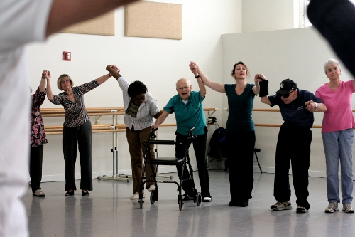 Dance for PD at Mark Morris Dance Group. Photo by Amber Star Merkens.