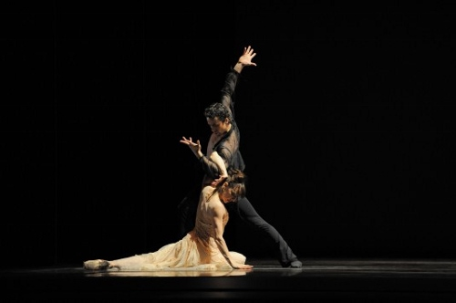 Lorena Feijoo and Vitor Luiz in Yuri Possokhov's 'Talk To Her'.