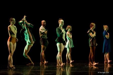 'Exhibit a' Ate9dANCEcOMPANY. Choreographer Danielle Agami.