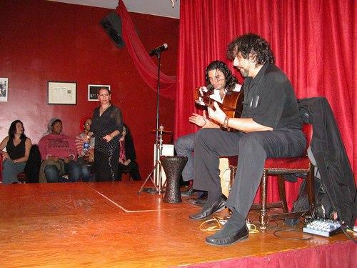Flamenco at Alegrias - Peter Basil and Pedro Cortés