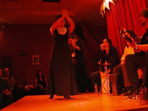 Flamenco at Alegrias - Nelida Tirado