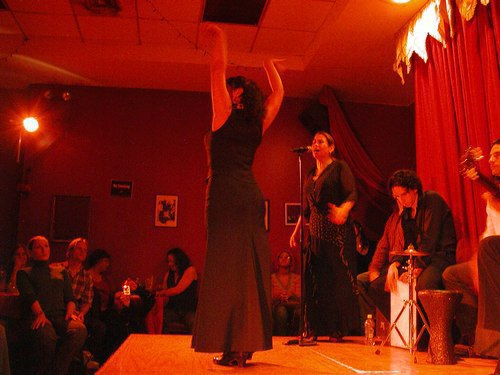 Flamenco at Alegrias