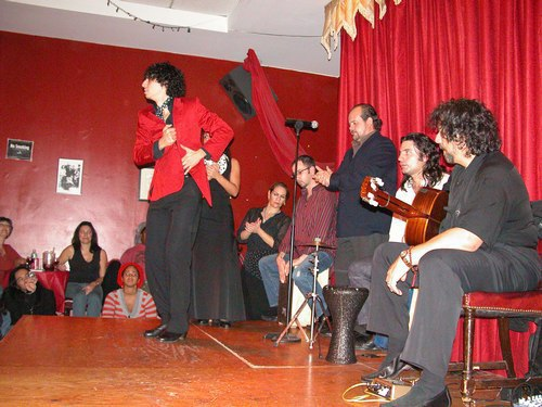 Flamenco at Alegrias - Raul Ortega