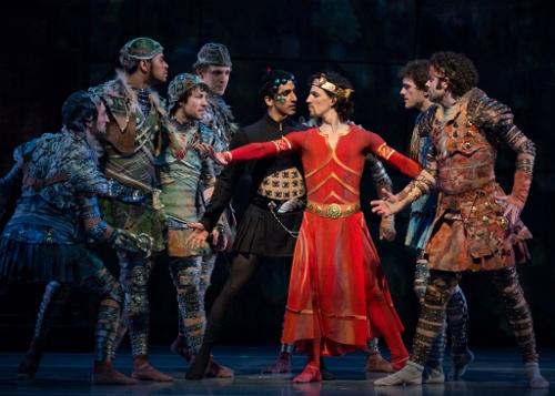 Cincinnati Ballet dancers with Rodrigo Almarales, Cervilio Amador, Cervilio Amadorodriguez and Zack Grubbs.