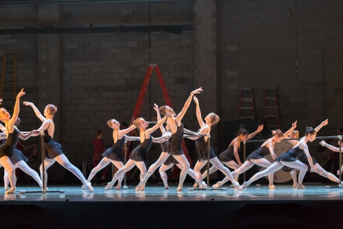 BalletMet Academy dancers in Victoria Morgan's 'Bolero'.