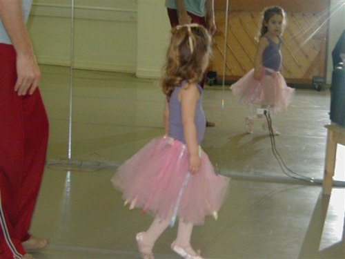 Camille Learns Ballet from Francois Perron.