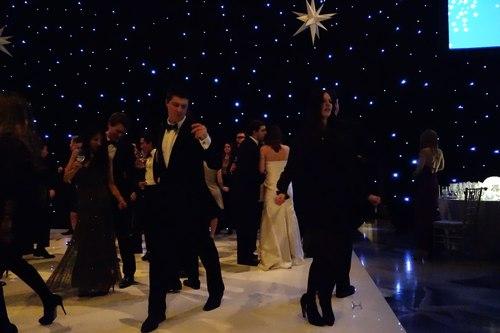 Social dancing.