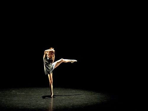 Grand Rapids Ballet dancer Laura McQueen Schultz in Robyn Mineko Williams' 'One Take'.