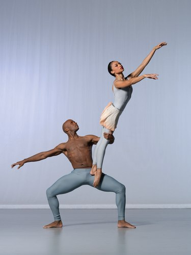 AAADT's Glenn Allen Sims and Linda Celeste Sims in Alvin Ailey's The River
