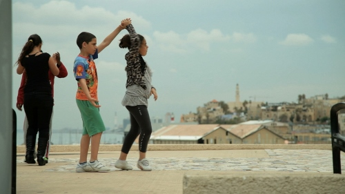 A scene from 'Dancing in Jaffa'. Photo courtesy of IFC Films.