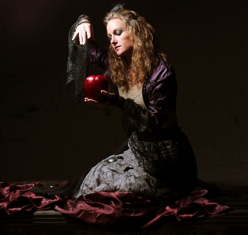 Brooke Wesner as the wicked stepmother in Neos Dance Theatre's 'Snow White and the Magic Mirror: A Grimm Tale'.