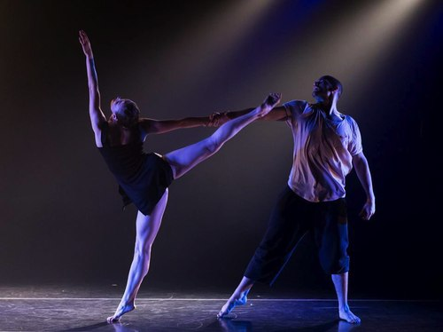 Asya Zlatina and Kevan Sullivan in The Koresh Dance Company's 'Promises'