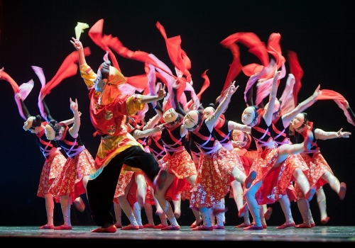 Photo courtesy of Jiangxi Zhongshan Dance School